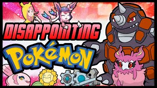 Top 10 Most Disappointing Pokémon [feat. TamashiiHiroka]