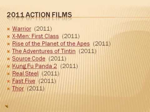 The Best Action Movies Of 2011