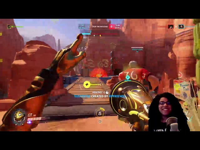 OW - Catapulted (Highlight)