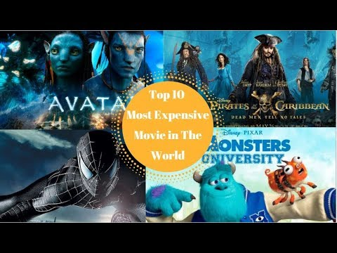 Top 10 most expensive films in the world