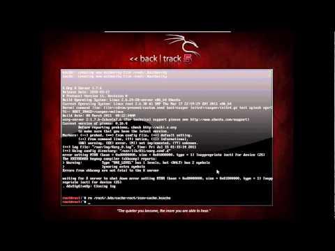 Backtrack 5 KDE 64 bit Startx ERROR FIX
