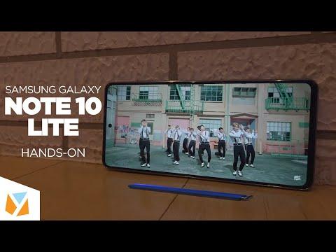 Samsung Galaxy Note 10 Lite Hands-on, First Impressions!