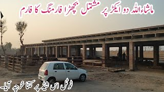 2 acre calf farm in Hujra Shah Muqeem|Bout Khubsurat Bachra Farming ka Farm|Business talks official