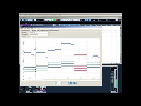 algorithmic random music composition with MelodyGenerator