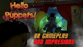 Hello Puppets VR Gameplay and Impressions