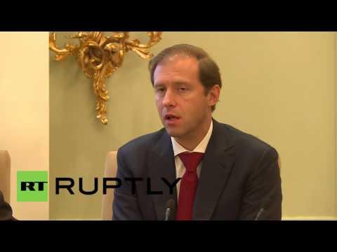 Germany: Diversifying Russian economy will boost German trade - Manturov