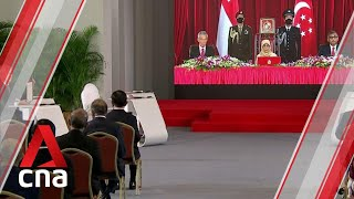 Singapore's new Cabinet sworn in