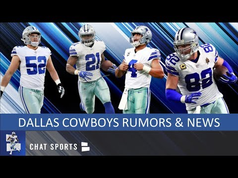 save off 3ab56 a90aa Cowboys Rumors: Ezekiel Elliott And Dak Prescott Contract ...