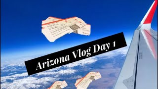 Travel Vlog - Arizona - Day 1 - Condo Tour - 13 Hours - Andy Sanders
