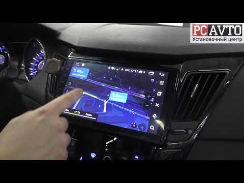 Hyundai Sonata - установка штатной магнитолы на андроиде
