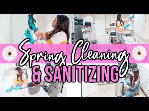 spring-cleaning-2020-|-sanitizing-the-whole-house