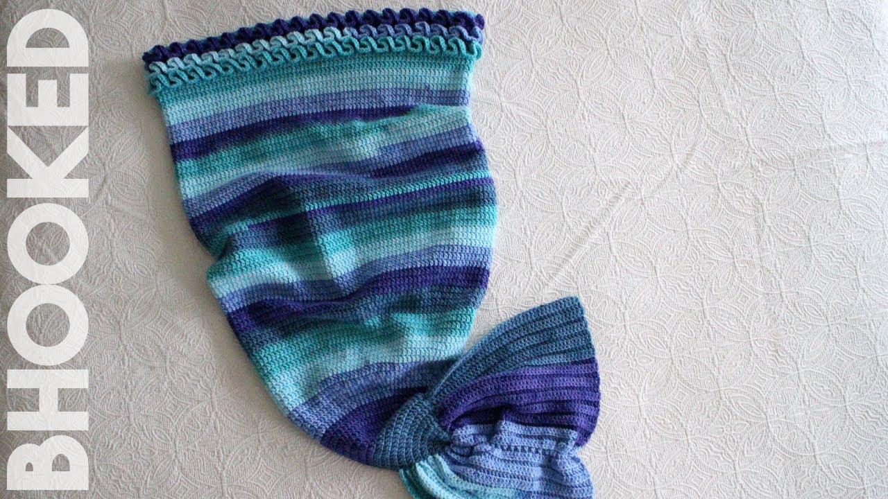 Crochet Mermaid Tail Youtube