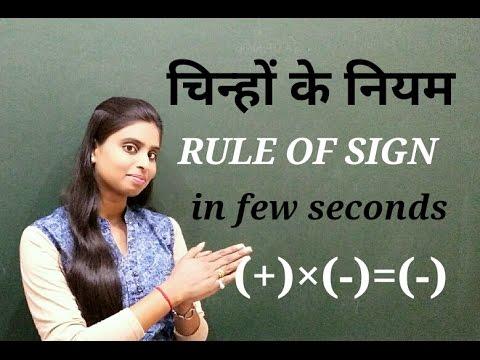 Download Math -3 - Rule Of Symbols चिन्हों का नियम-English,Hindi Mp4 baru