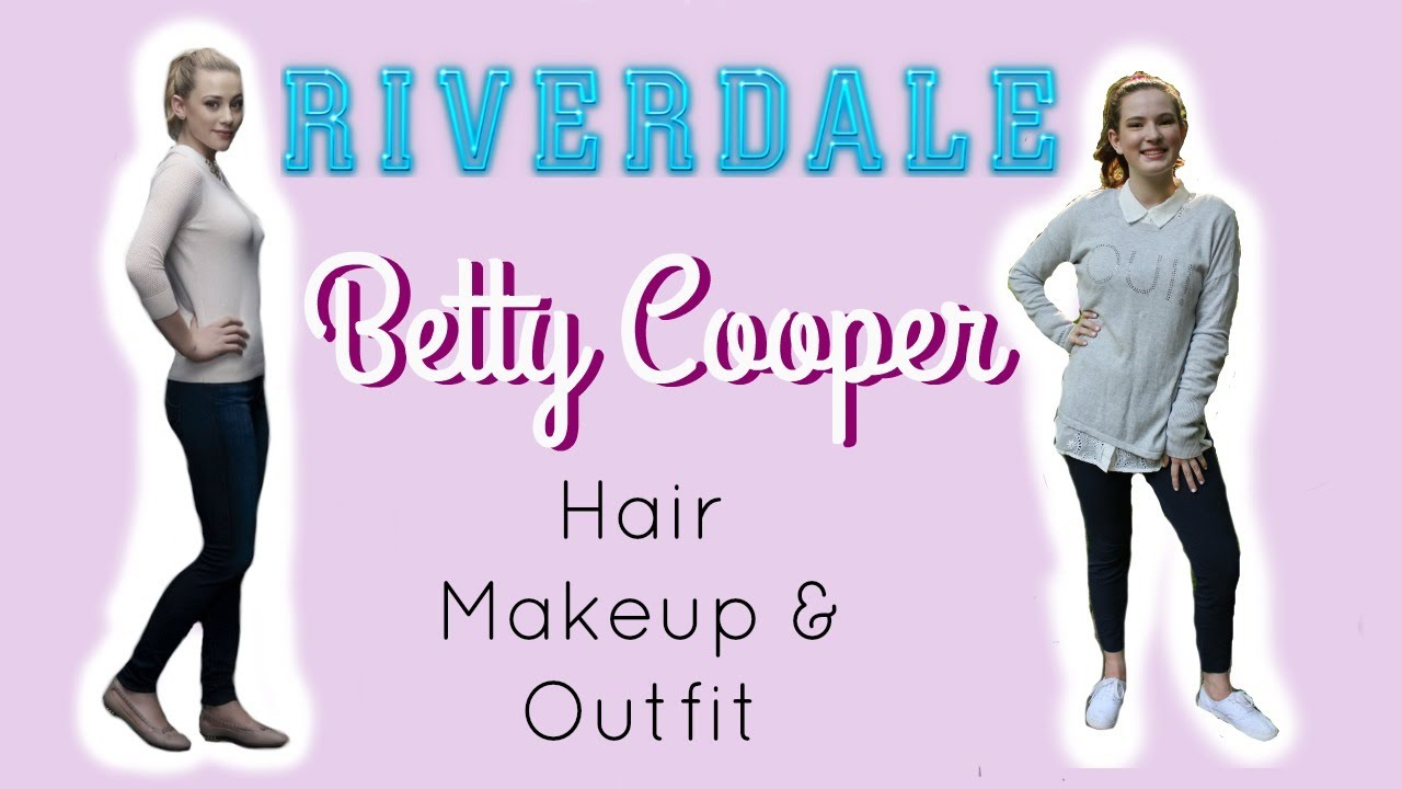 Betty Cooper Hair Makeup Outfit Youtube