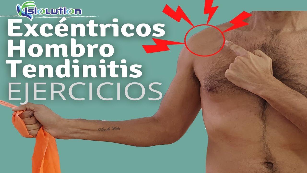 Ejercicios para tendinitis de hombro y brazo
