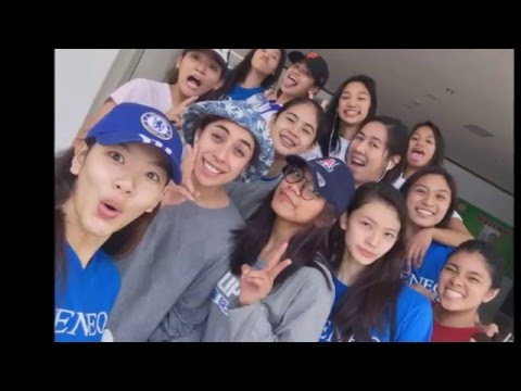 Ateneo Lady Eagles Training in Thailand