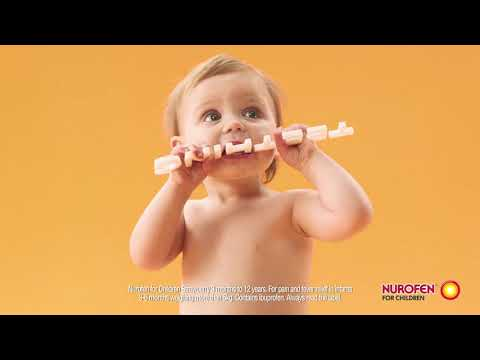 910 mums recommend Nurofen for Children for Teething