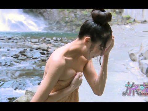 【放送事故】石川恋が温泉でポロリ