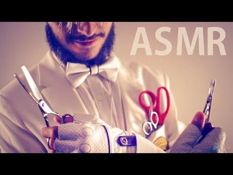 [ASMR] Ear-to-ear Scissors Concerto - NO TALKING