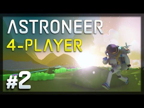 Generate Astroneer - #2 - Falling Through Worlds (4-Player Astroneer Gameplay) Snapshots