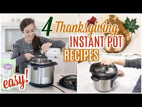 easy-instant-pot-recipes-for-thanksgiving-//-thanksgiving-dinner-recipes-easy