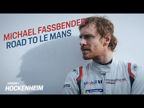 Michael Fassbender is on the road to Le Mans with Porsche