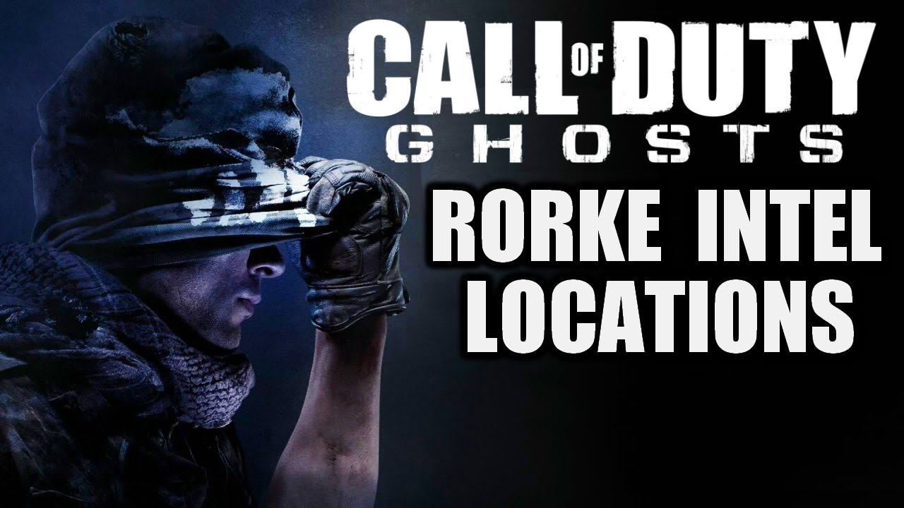 call of duty ghosts all rorke files intel locations