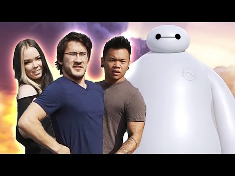 Big Hero 6 - Markiplier and the Big Maker 6 SAVE THE DAY!!