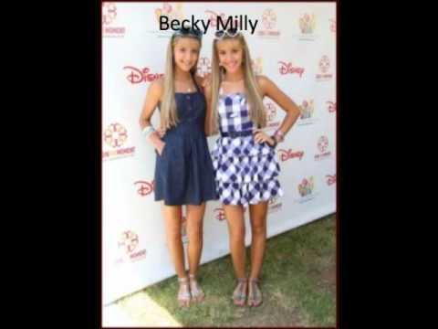 Becky and Milly Rosso