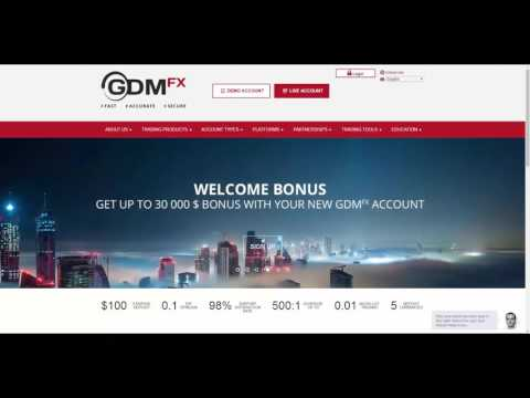 GDMFX details - Forex Broker Directory