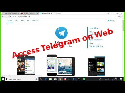 How to Access Telegram on Web?