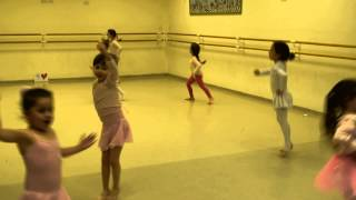 Мири - Открытый урок на кружке балета - 10