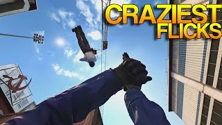 Video CS:GO - CRAZIEST Flick Shots! download MP3, 3GP, MP4, WEBM, AVI, FLV Januari 2018
