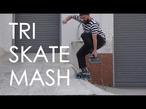 TRISKATE MASH // 3 WHEELS INLINE SKATING IN BERLIN, JOHANNESBURG, LISBON, PRETORIA AND CAPE TOWN
