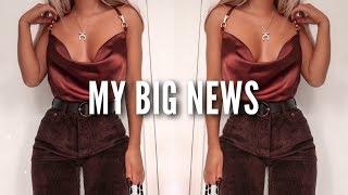 My Big News! | Fashion Influx