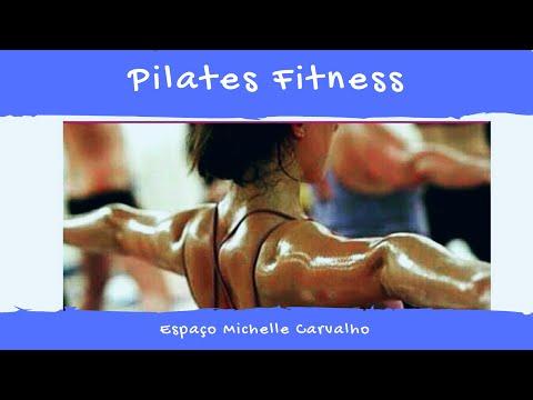 Aula de Pilates fitness solo, mat