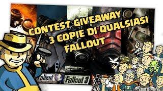 Fallout - CONTEST GIVEAWAY - 3 COPIE DI QUALSIASI FALLOUT PER TUTTE LE CONSOLE!!