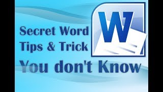 36 Secret Word Tips and Trick You don't Know 2017✔