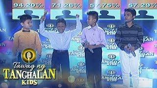 Tawag ng Tanghalan Kids: Francis Concepcion goes to the grand finals