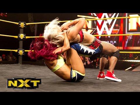 Charlotte & Sasha Banks vs. Emma & Dana Brooke: WWE NXT, July 8, 2015