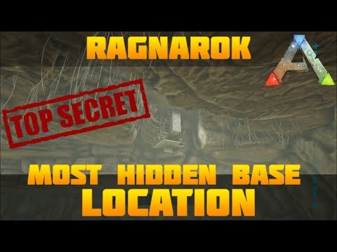 ARK BEST HIDDEN BASE LOCATION Low Profile On Pvp | Ragnarok