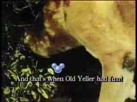 Old Yeller (Sing Along Songs)