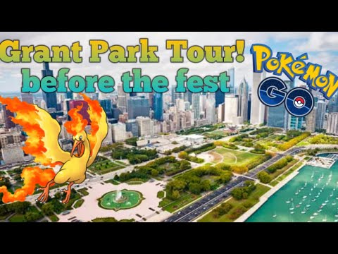 Pokemon Go Chicago Grant Park!!