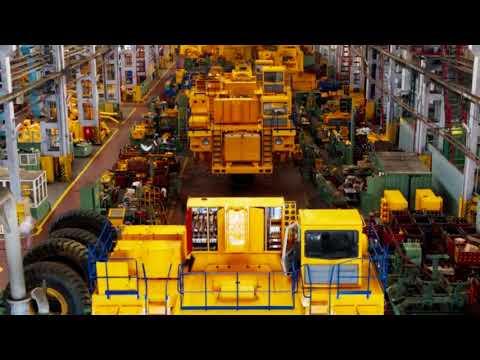 Making Of  Largest Mining Dump Truck In The World II Belaz 75710