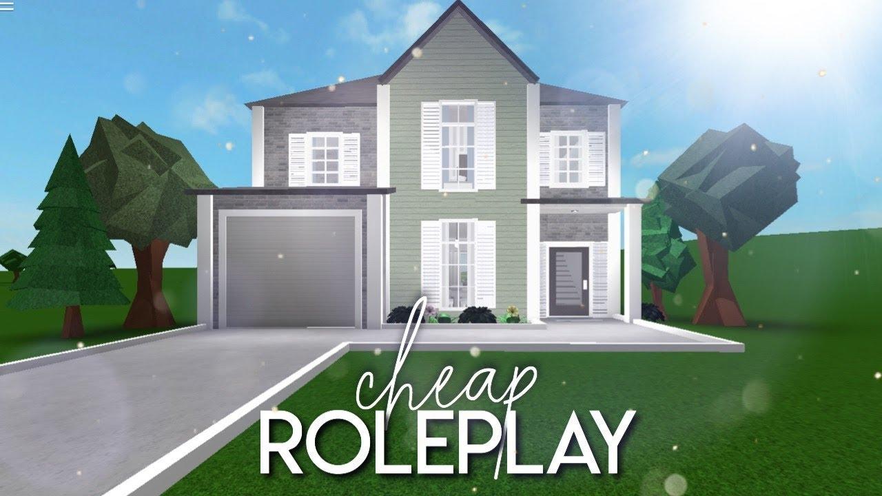 Bloxburg: Cheap Roleplay Home