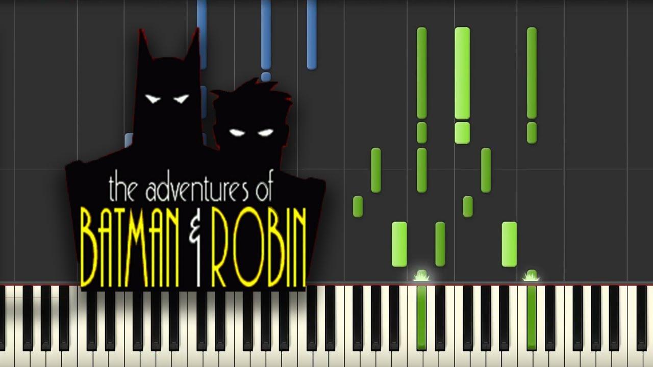 Gmail batman theme - Batman Tas Theme Song Piano Tutorial