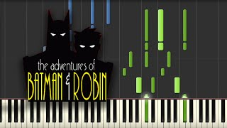 Batman (TAS) - Theme Song (Piano Tutorial)
