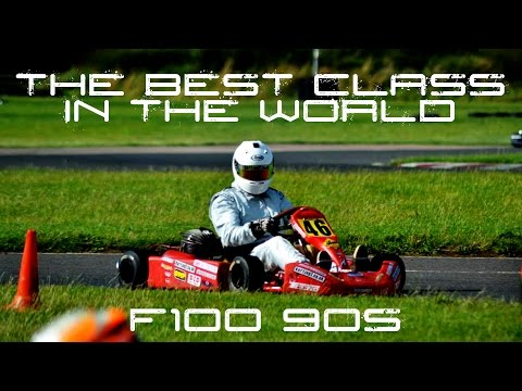 The BEST Kart Class on the Planet - F100 90s raced by Karting1
