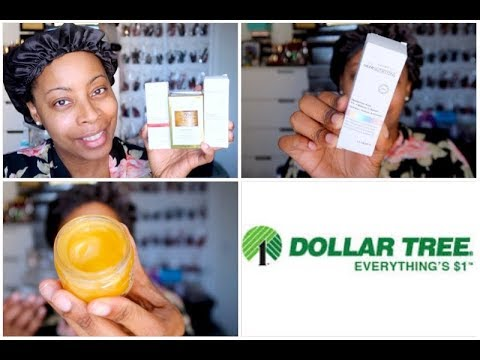 DOLLAR TREE Best Selling 1% HYALURONIC ACID & VITAMIN C Serum + The LIQUID GOLD Gel FACE MASK!!