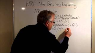 NRE: Non-Recurring Engineering Charges on Custom Designs